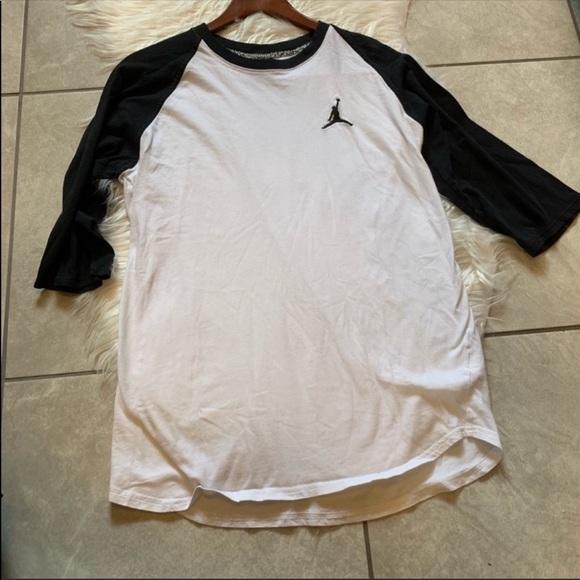 1198291864e Jordan Shirts | Jumpman 34 Length Baseball Top Size L | Poshmark